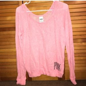 Mesh used PINK VICTORIA SECRETS sweater!!!